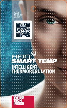 HeiQ Smart Temp - Activated cooling